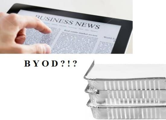 BYOD- a new issue in IT
