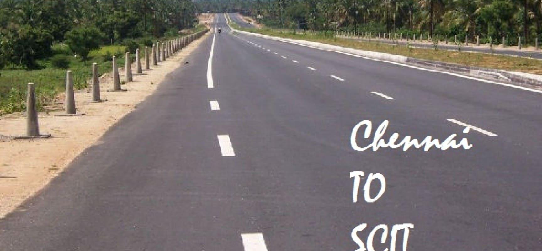 Chennai to SCIT