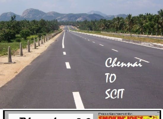Chennai to SCIT