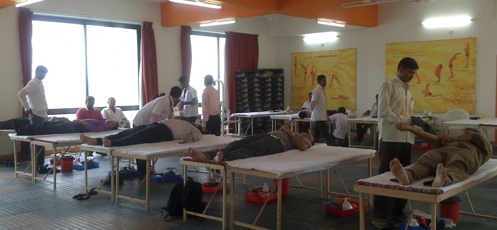 Blood donation camp @SIC Campus.