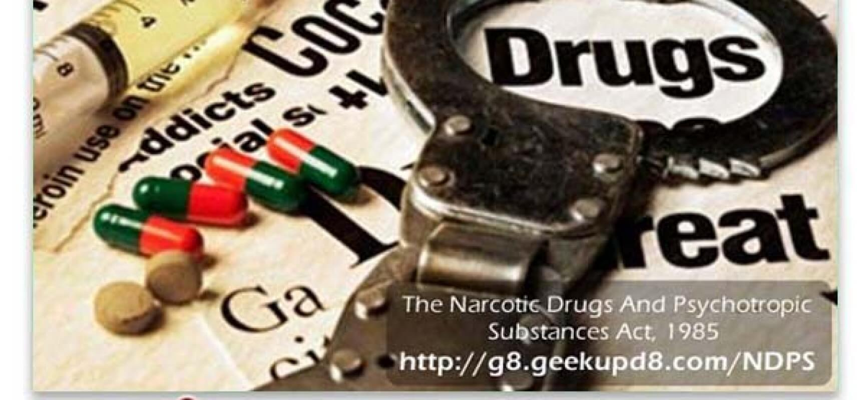 Narcotic Drugs….curse or cure….??
