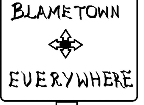 The comfort of blaming