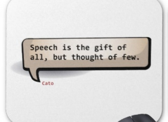 The gift of speech!!!