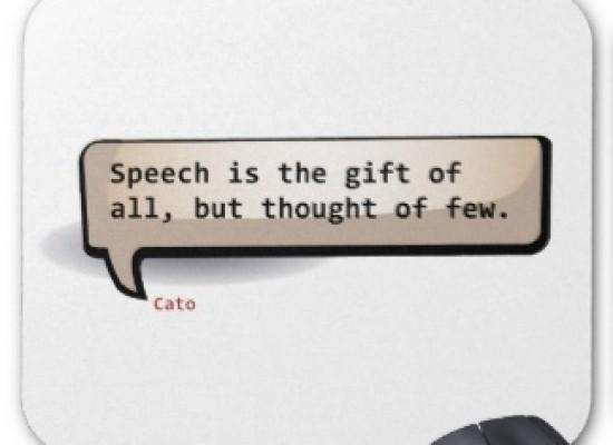 The gift of speech!!!