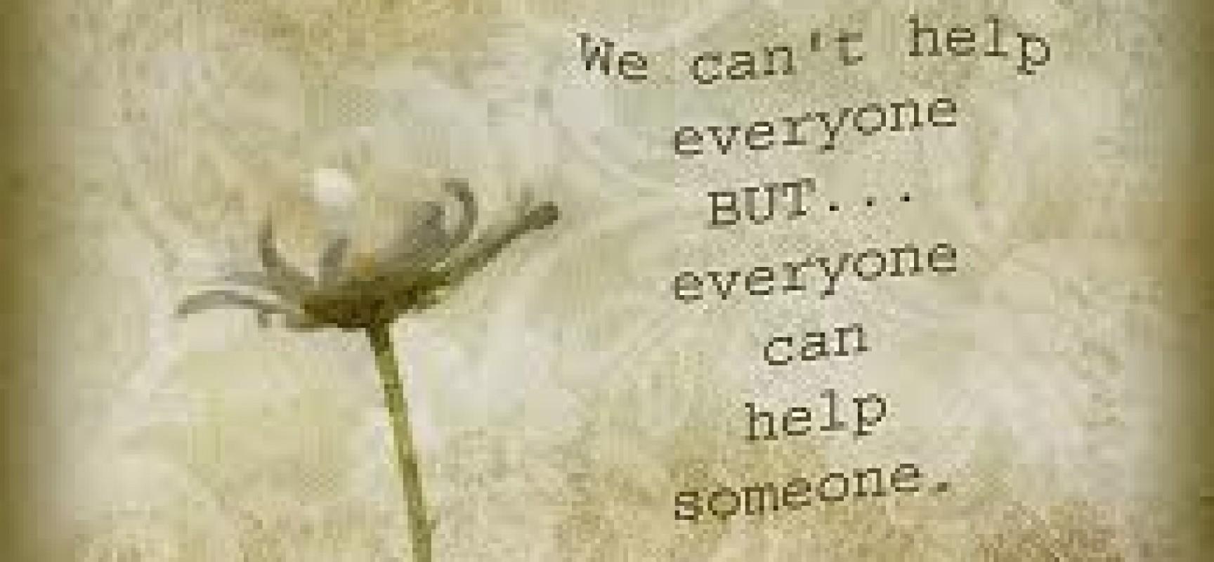 Love Everyone, Help Everyone
