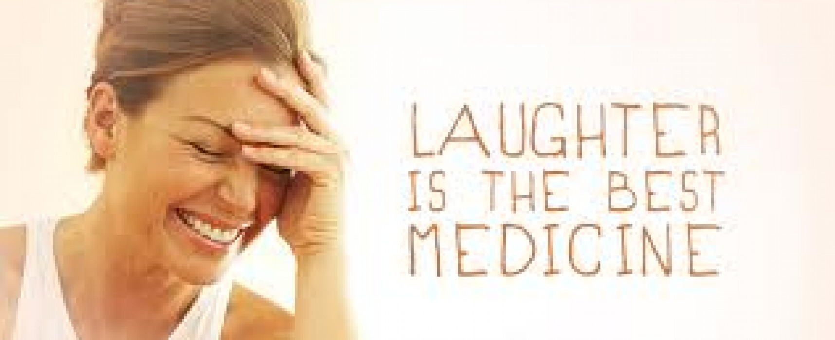 Stress relief from laughter? It's no joke