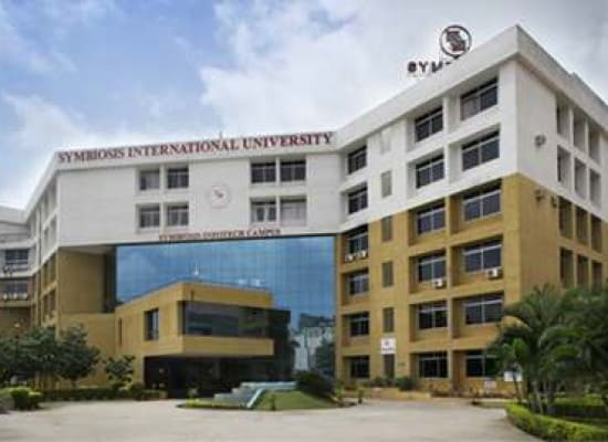 My first day in Symbiosis campus