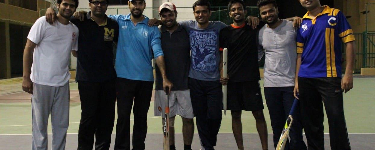 Who's the real Champion?                             Champion's League Final : SCIT vs SCMHRD                                                                                                    -Suhaani Khemchandani