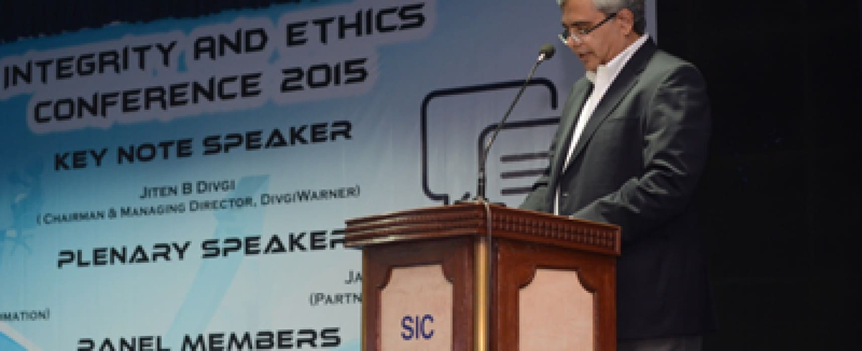 Integrity and Ethics Conference 2015 at SCIT