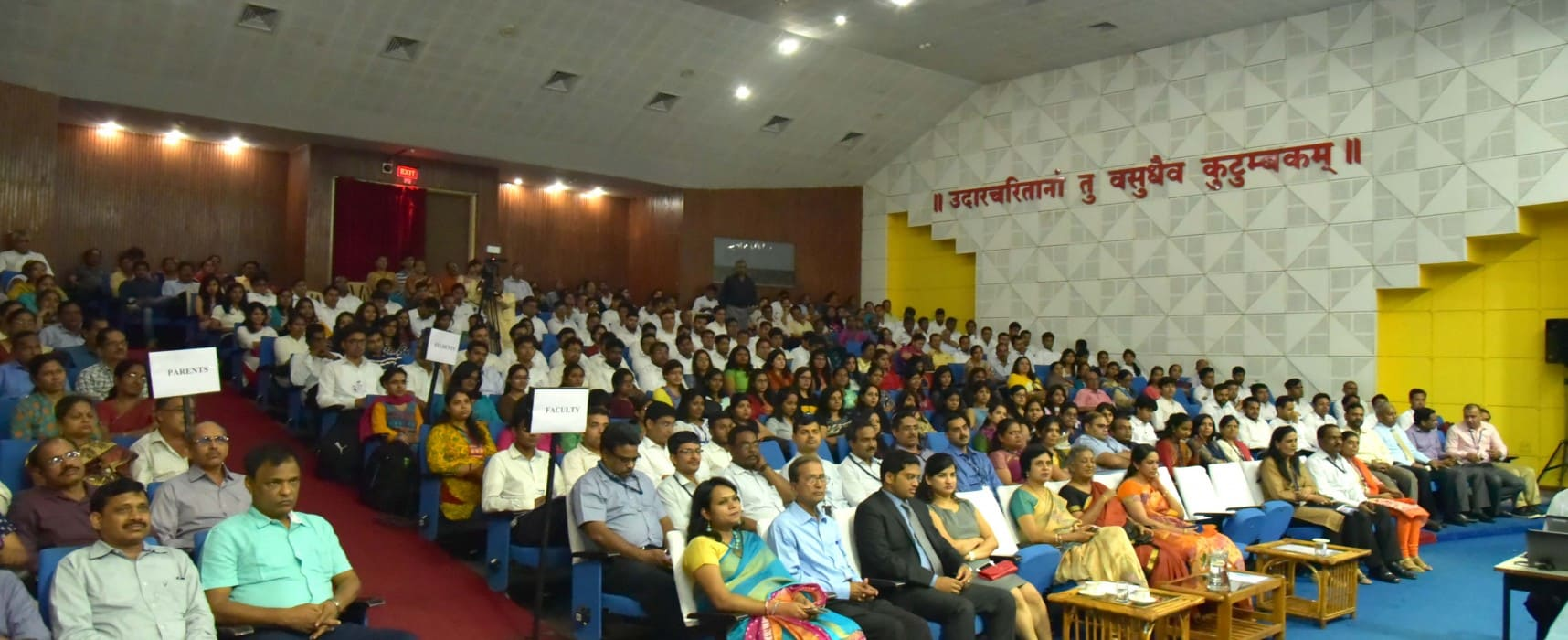 Inaugurating the beginning of a new academic year at SCIT for MBA(ITBM) students