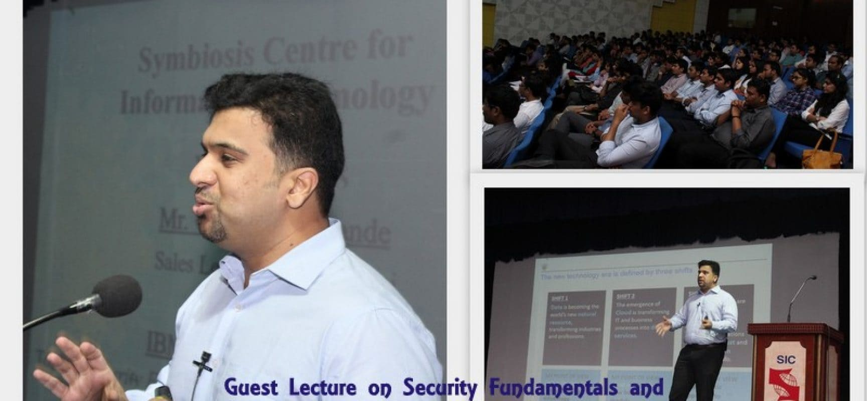 Guest Lecture on Security Fundamentals and Management in Business Organizations