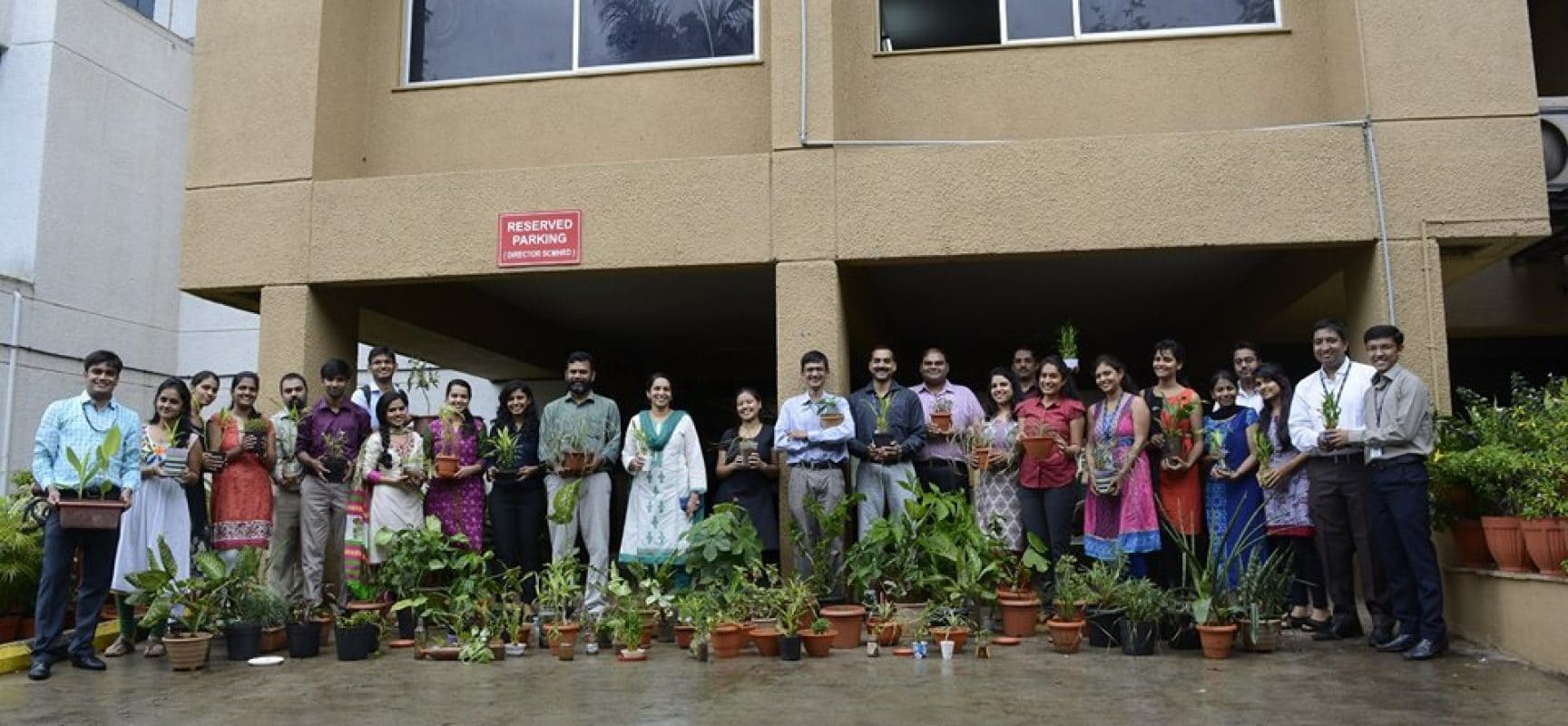 Tree Plantation Initiative at Aranyeshwar School