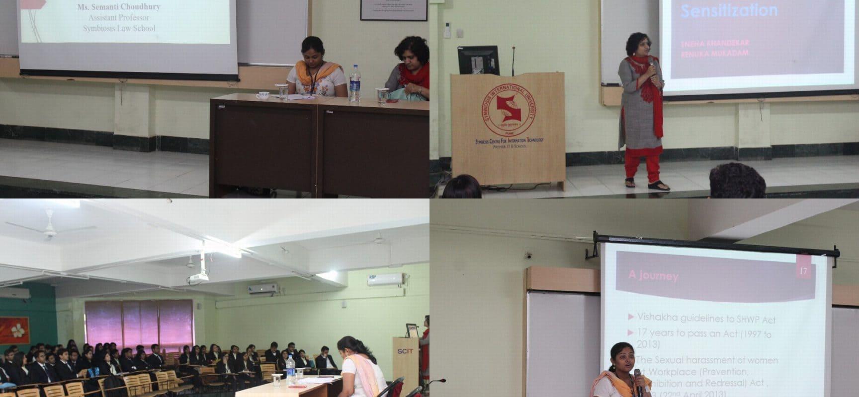 Guest Lecture on Gender Sensitization