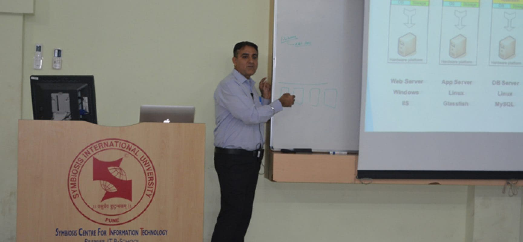 A Guest Lecture on Cloud Computing and Virtualization