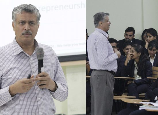 A session on Entrepreneurship by Symbiosis Centre for Entrepreneurship and Innovation