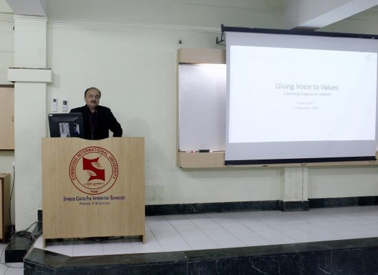 """Guest Lecture : """"Giving Voice to Values"""""""
