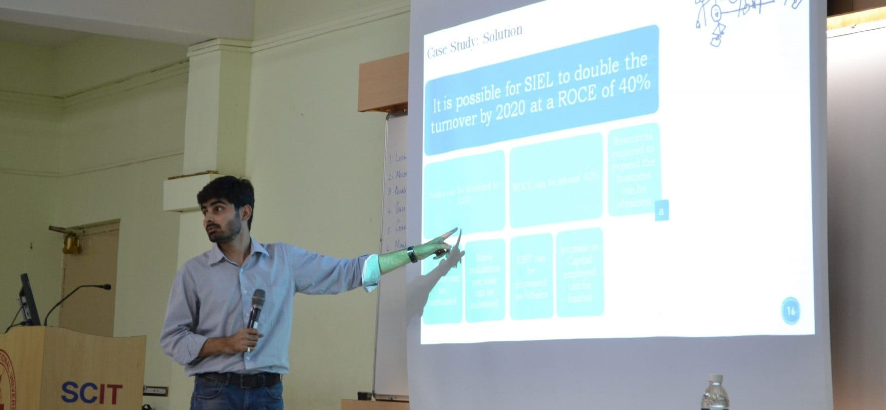 Guest Lecture on Problem Solving in a Complex World- The Consulting Way