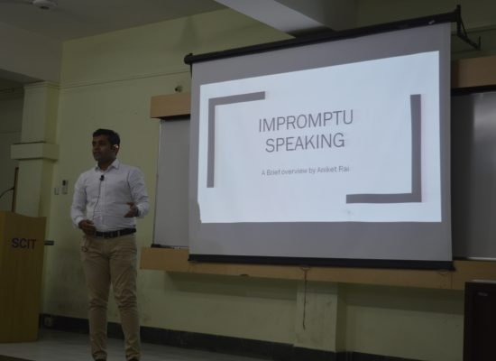 Guest Lecture on Toastmasters