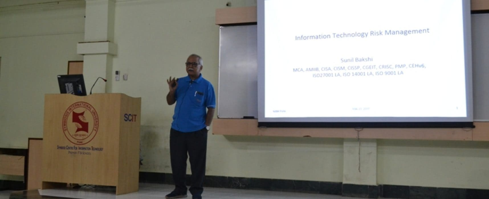 INFORMATION RISK ASSESSMENT – Guest lecture