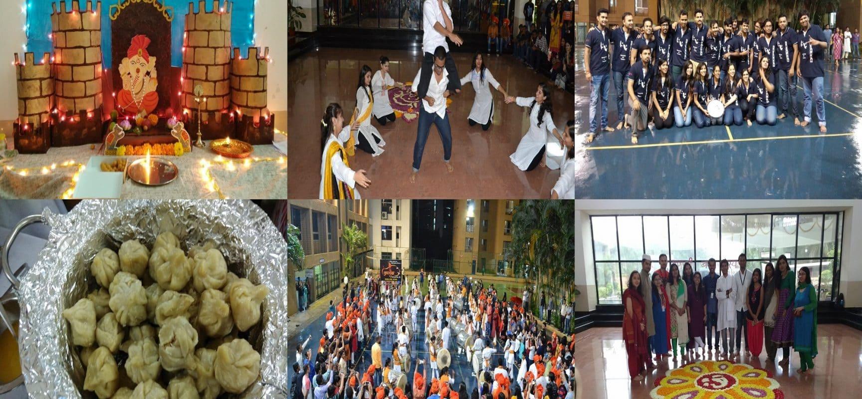 Ganesh Festival @ Symbiosis
