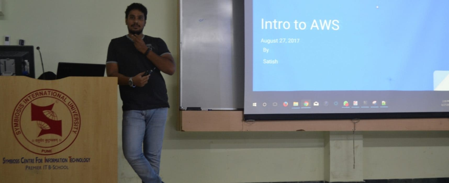 Guest Lecture on Cloud Service Models in AWS Platform
