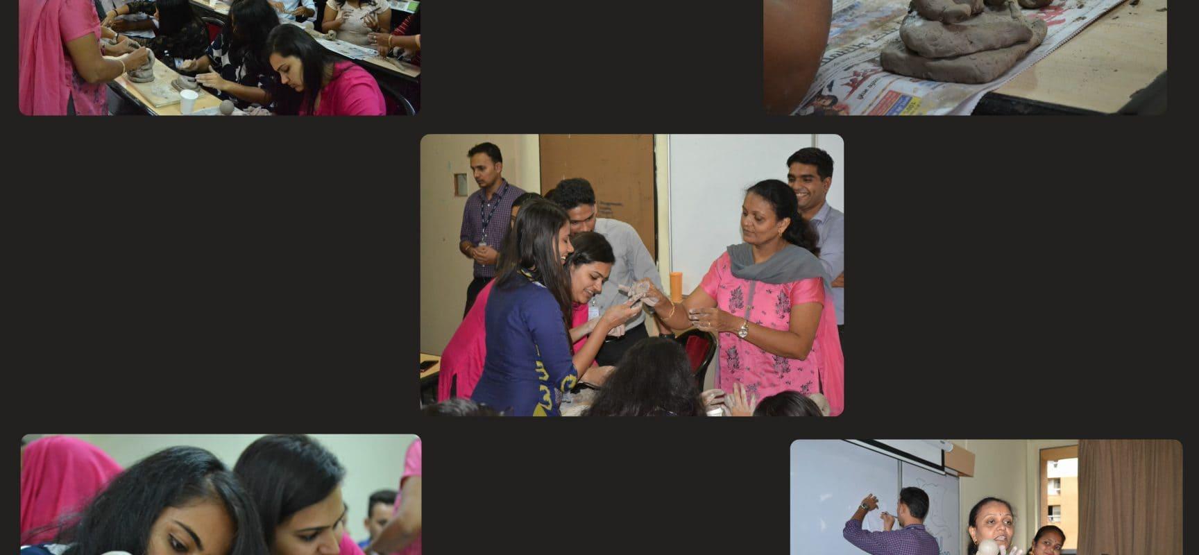 Workshop on Eco-friendly Ganesh Idol Making