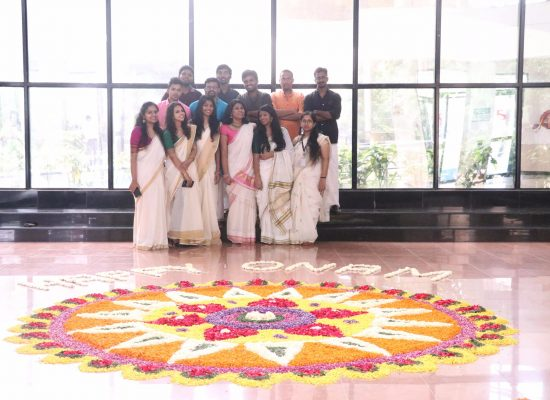 Onam celebration at SIC!