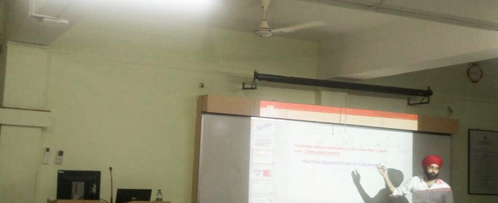 Guest Lecture on Data Analytics in ITSM