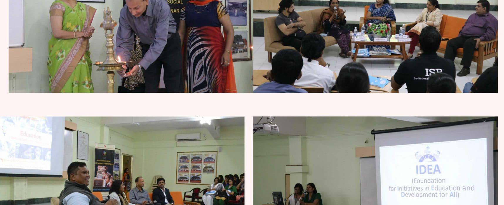 Institutional Social Responsibility Seminar (2017)