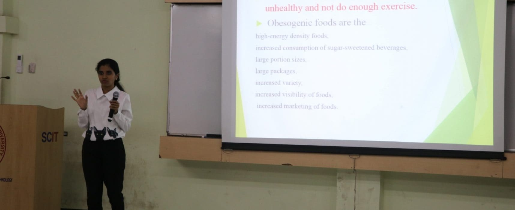 Guest lecture on Health and Wellness
