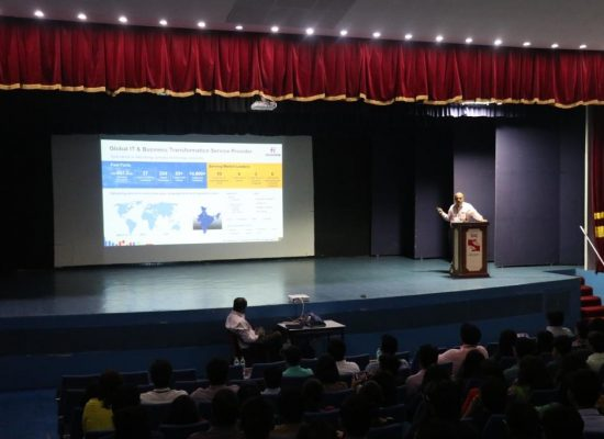 Guest Lecture on Latest Information Trends in the Market