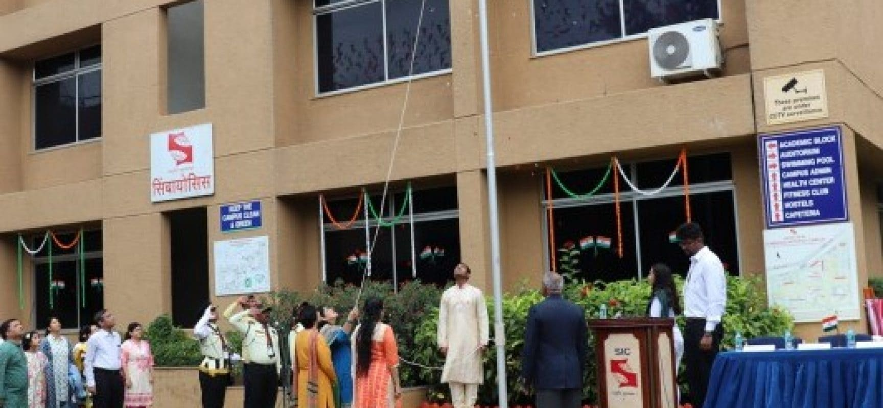 Independence Day at SCIT