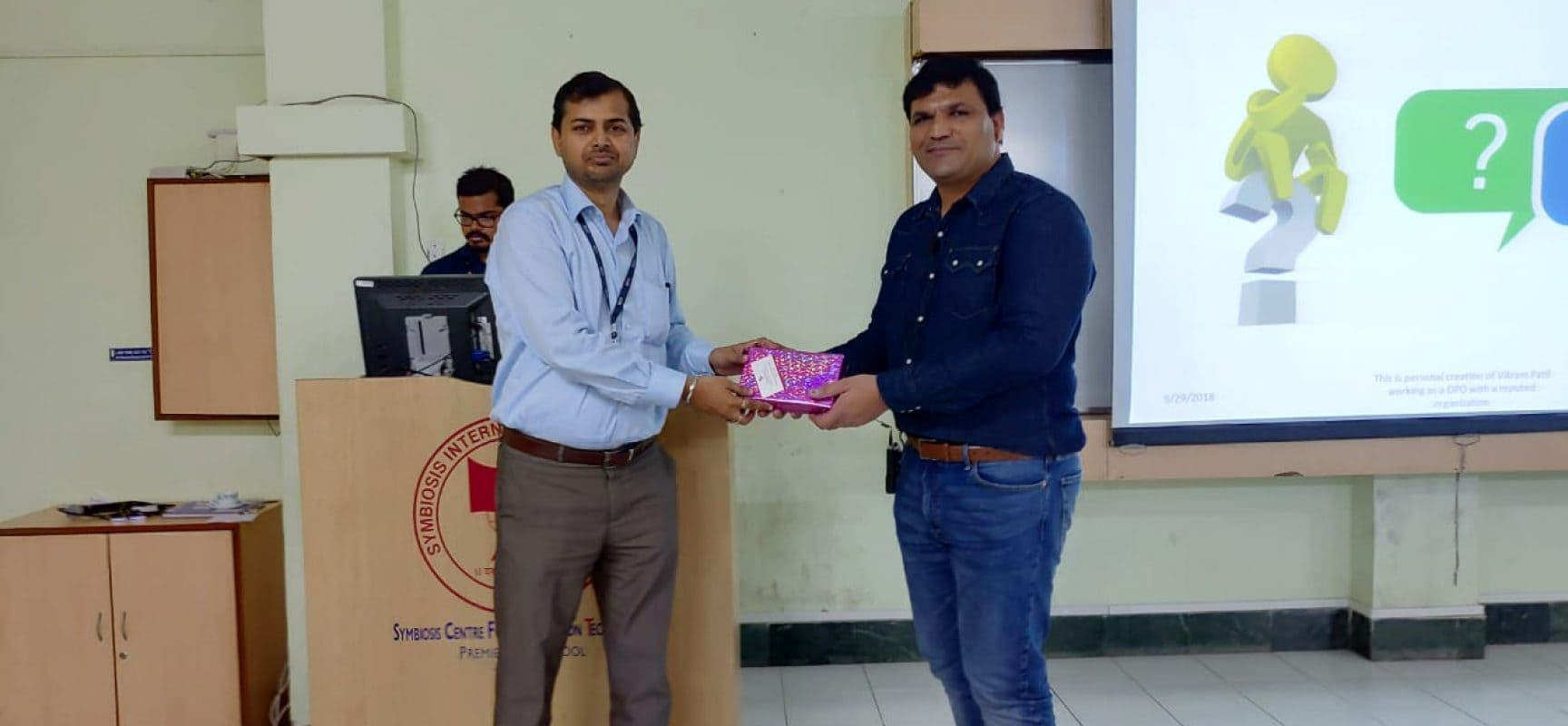 Guest Lecture on GDPR and Data Protection Bill