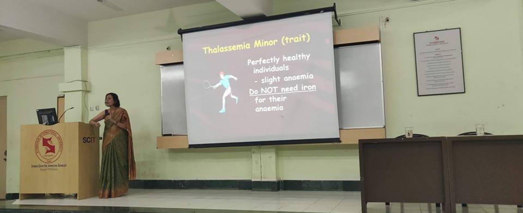 Thalassemia Awareness Program