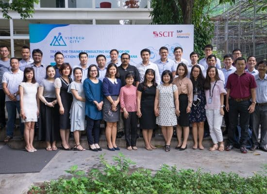 Dr.SVK Bharathi, SCIT Professor conducted consulting workshop in VIETNAM