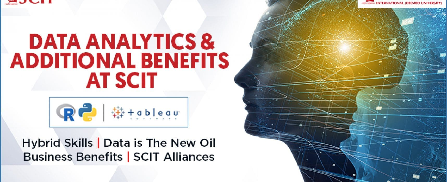 An insight into Data Analytics & additional benefits at SCIT.