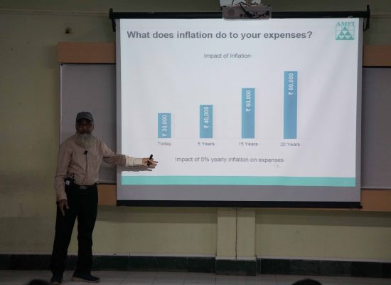 Guest lecture on Financial Planning using Mutual Funds