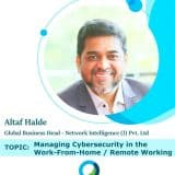 Managing Cyber security in the Work From Home