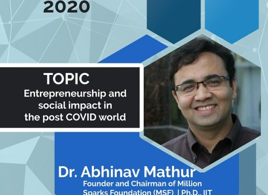 Entrepreneurship and Social Impact in the Post COVID World