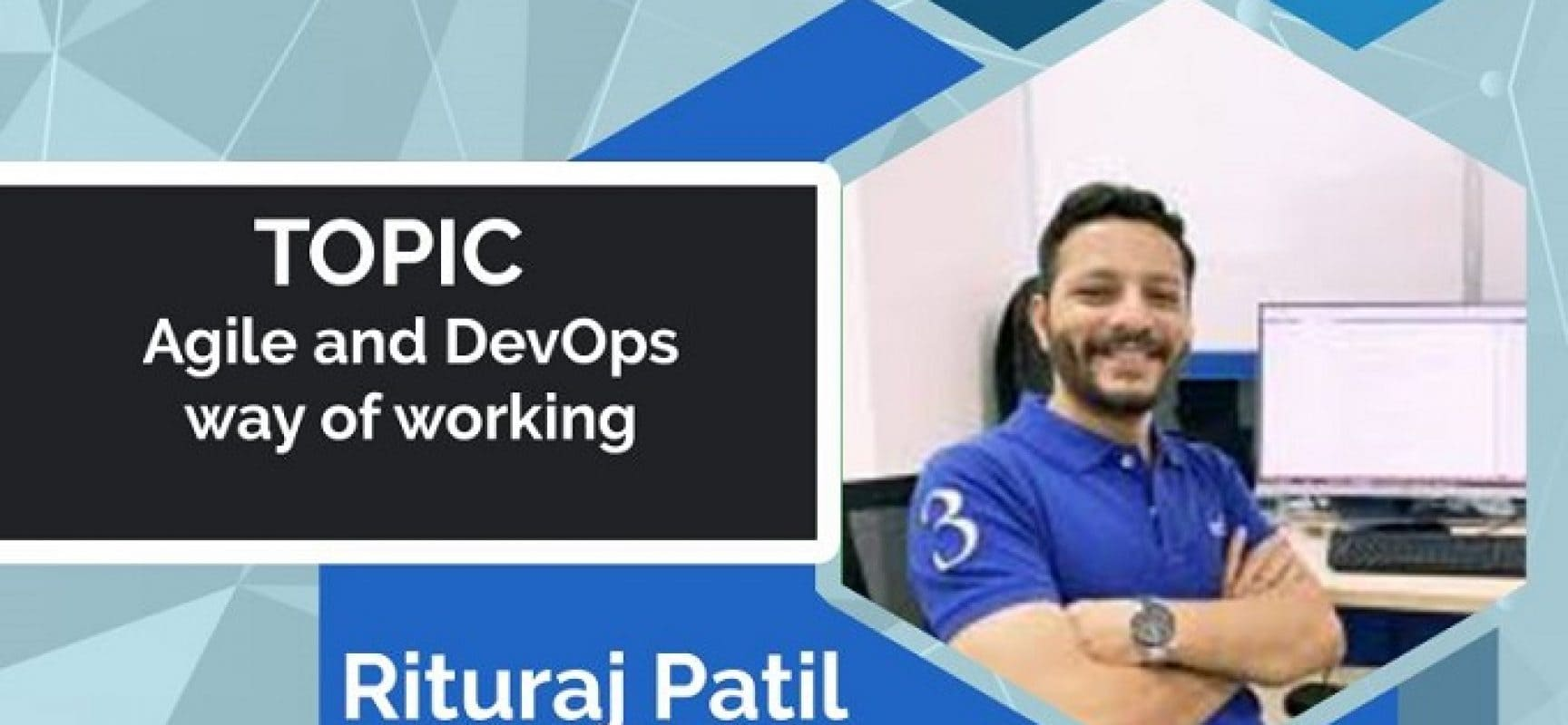 E-TALK: AGILE AND DEVOPS WAY OF WORKING