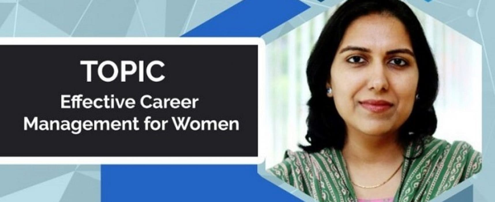 Effective Career Management for Women
