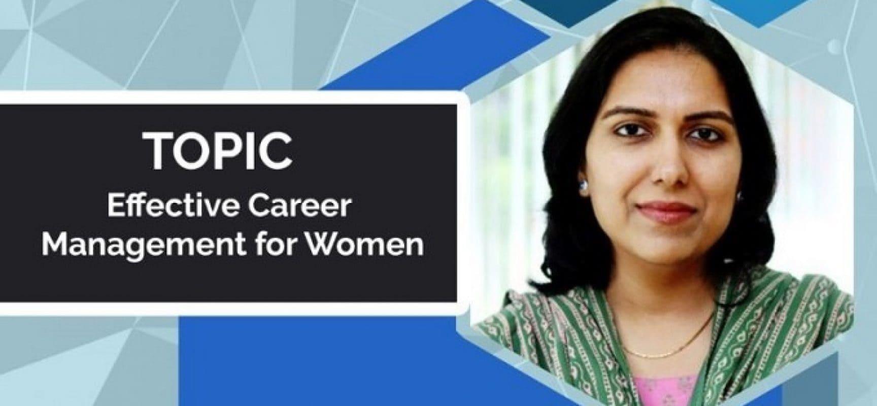 Effective Career Management for Women