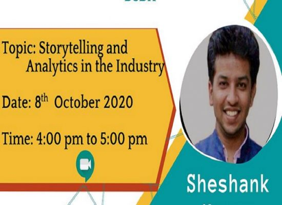 Storytelling and Analytics in the Industry