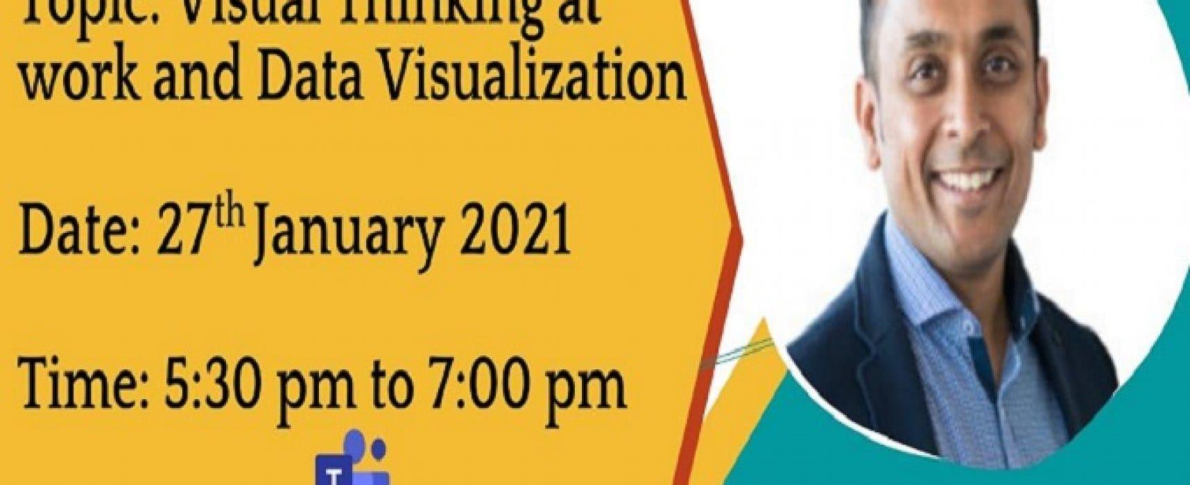 Visual Thinking at work and Data Visualization